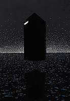 Der Besucher, 2019, Farblinolschnitt, 21 x 14,8 cm