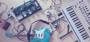 Looper, EGitarre, Keyboard