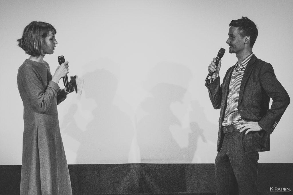 Eröffnung Filmkunsttage: Jenny Langner befragt Tom Schilling © Kiraton